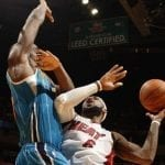lebron james miami heat VS new orleans hornets