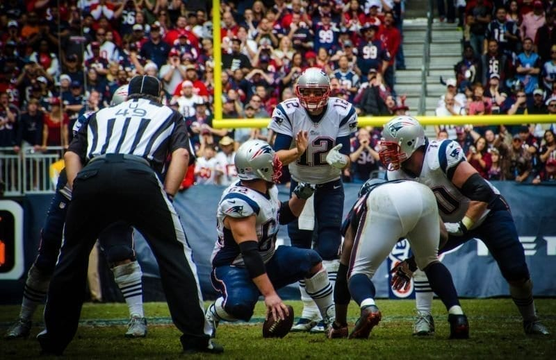 Tom Brady in Action
