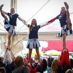 Cheerleader Vienna City Marathon 2014; Foto-Credits: Erste Bank Sparkasse Running