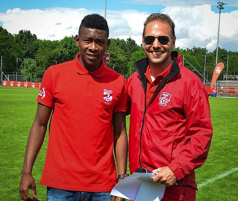 David Alaba beim Coca-Cola Cup 2014