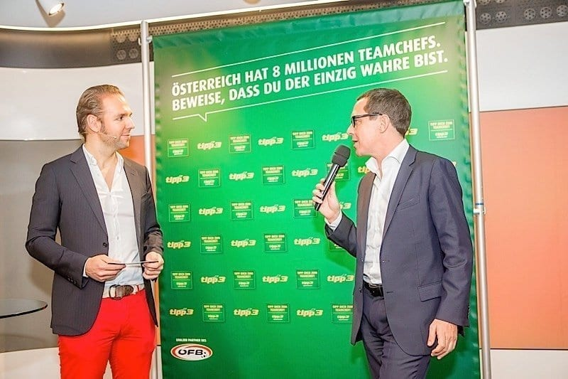 "Teamchef, Ronny Leber moderiert das Tipp3 ""Tipp dich zum Teamchef""-Finale"