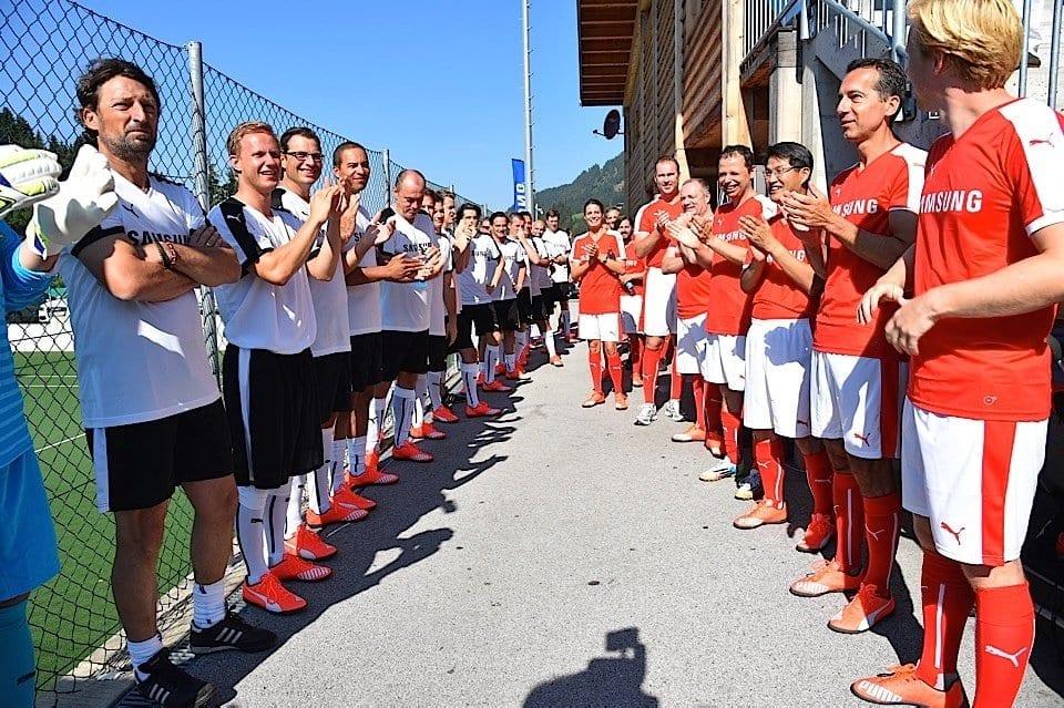 Forum Alpbach, Moderation: Samsung Charity Soccer Match beim Forum Alpbach