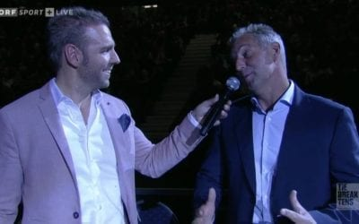 Live-TV Moderation: Tie Break Tens Vienna