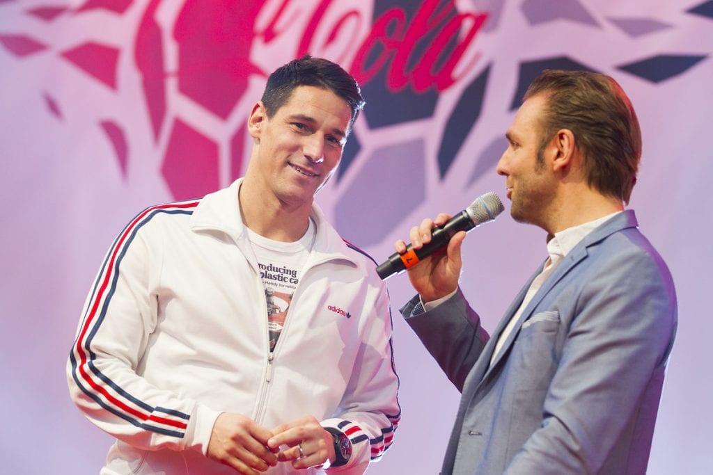 Coca Cola Kick Off Event mit Ronny als Moderator