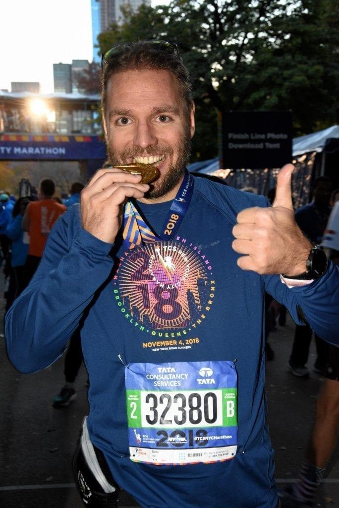 Ronny Leber Willensstärke Willenskraft New York Marathon