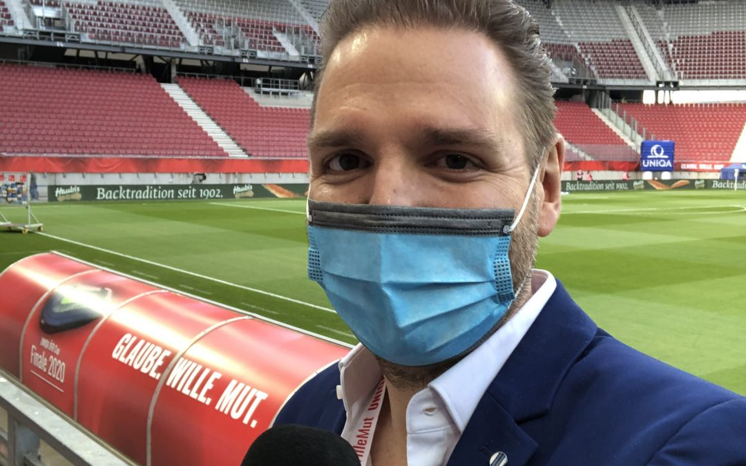 ÖFB Cup Final 2020 – Behind the scenes