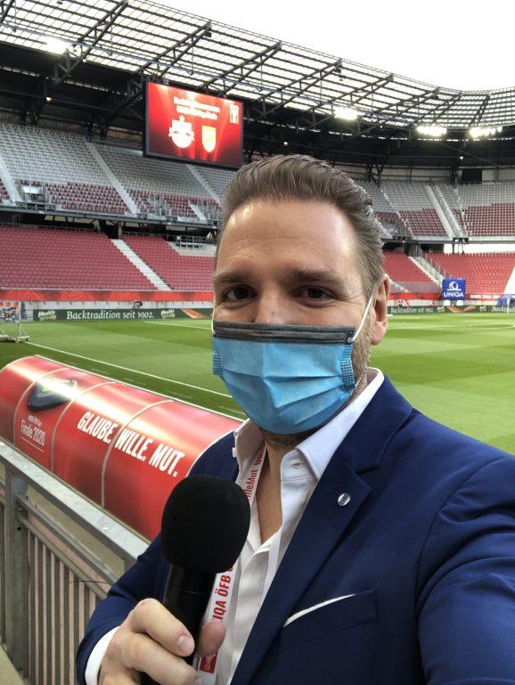 ÖFB Cup Finale 2020 Ronny Leber