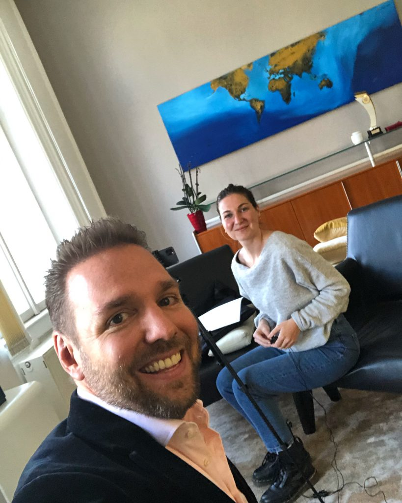 Ronny Leber beim Business Circle Podcast