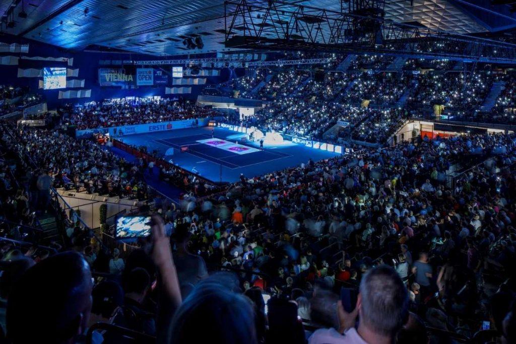 Erste Bank Open Tennisplatz