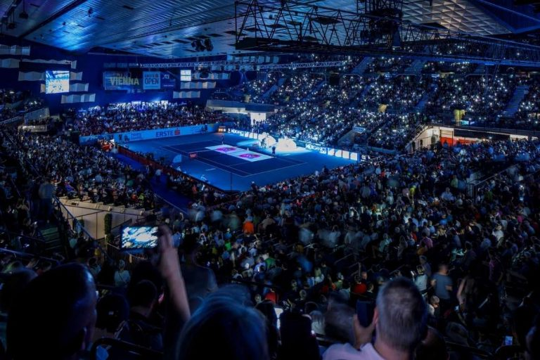 Tennisplatz Erste Bank Open 2020