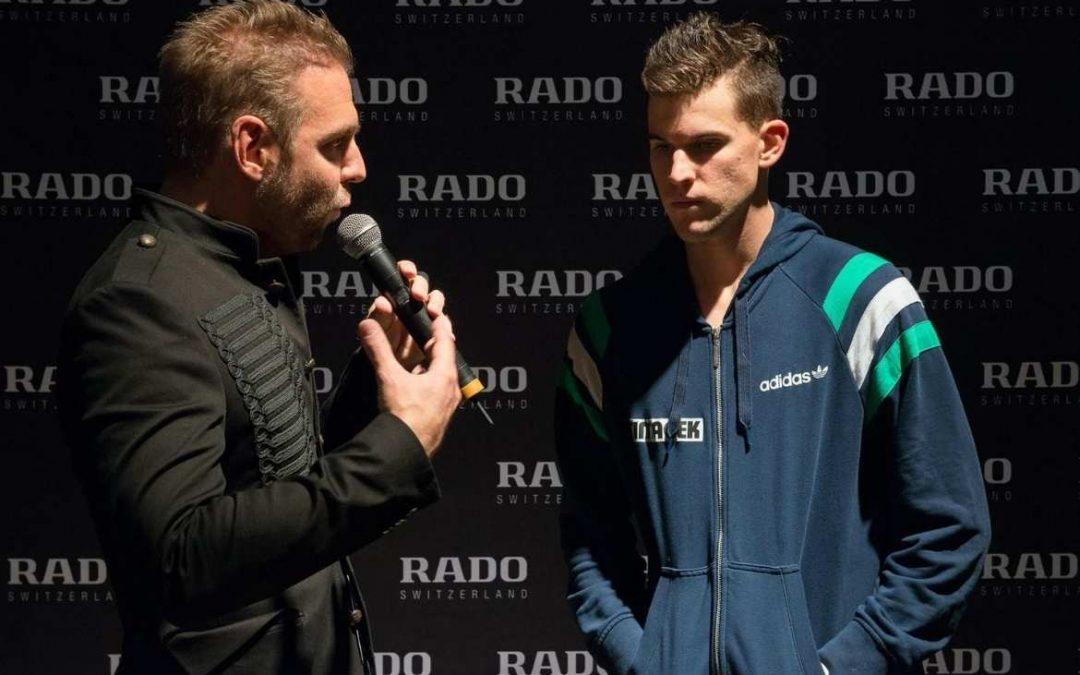 Ronny Leber Dominic Thiem auf Erste Bank Open im Interview