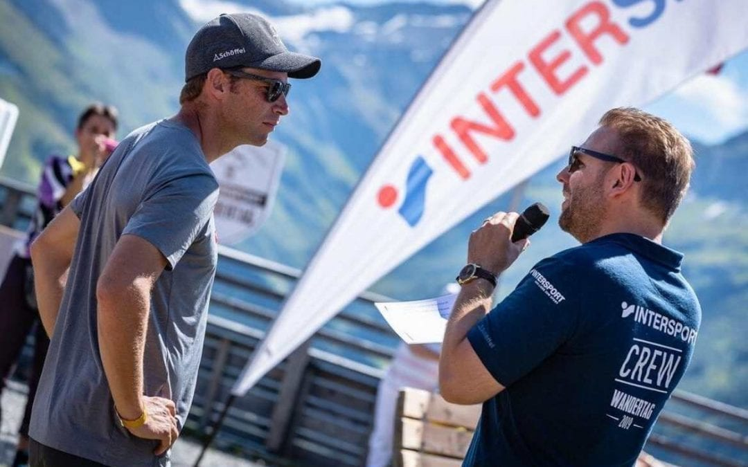 Intersport Hiking Days: Up the mountain with Olympic champions