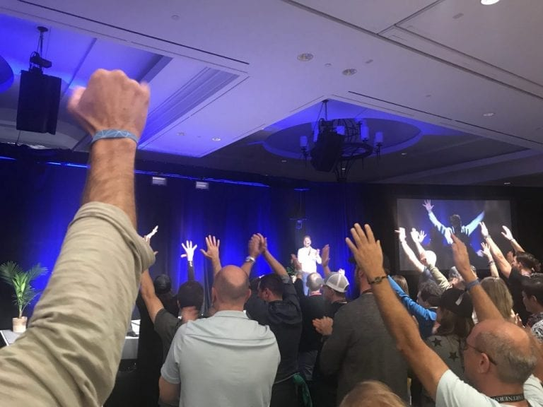 Keynote bei Tony Robbins' Leadership Academy