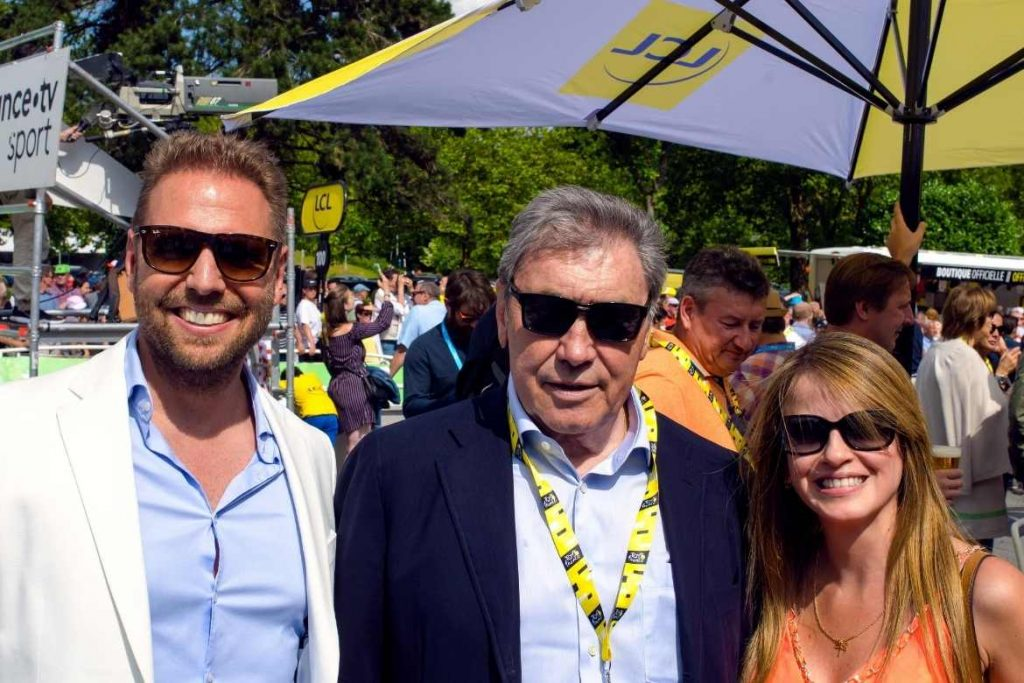 Tour de France - Ronny Leber, Eddy Merckx, Elizabeth