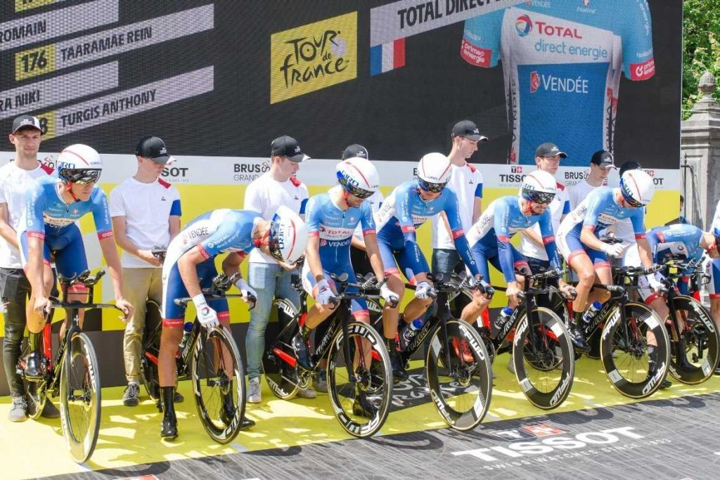 Tour de France - Team Trial Start