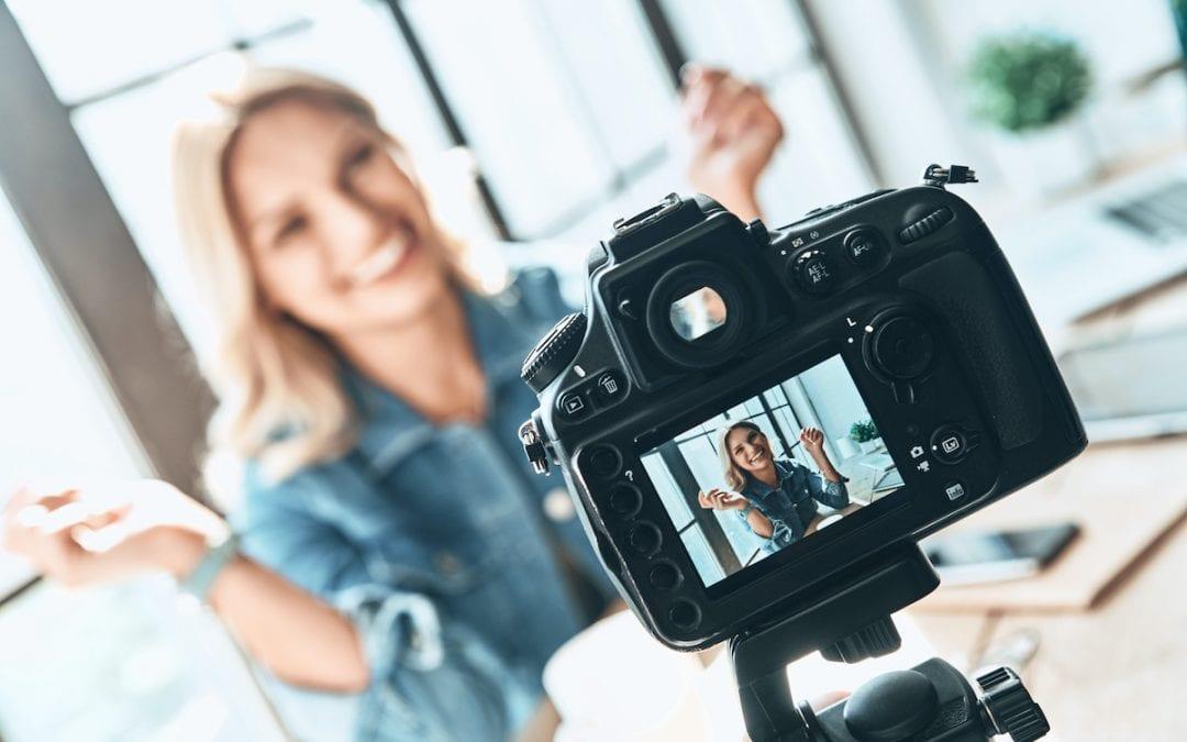 Vor der Kamera professionell wirken in 5 einfachen Schritten