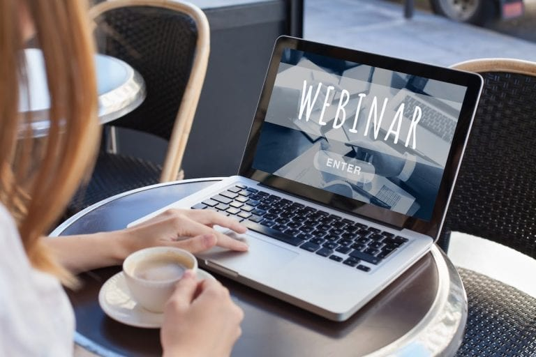What do I need for a webinar? 7 steps to a successful webinar!
