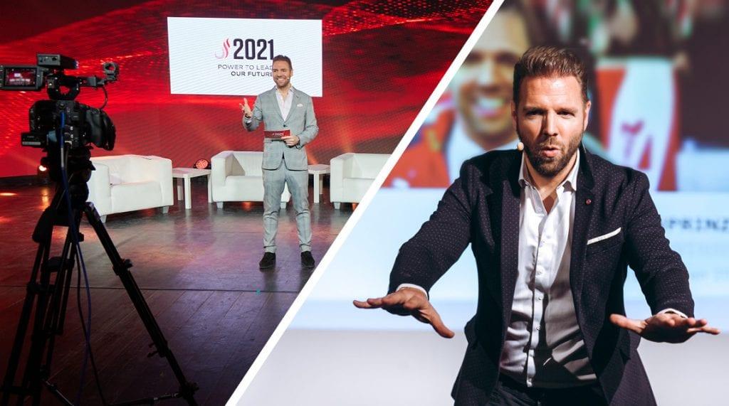 Ronny Leber Virtual Event Keynote Speaker