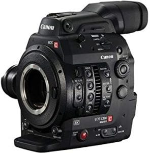 8.canon eos c300