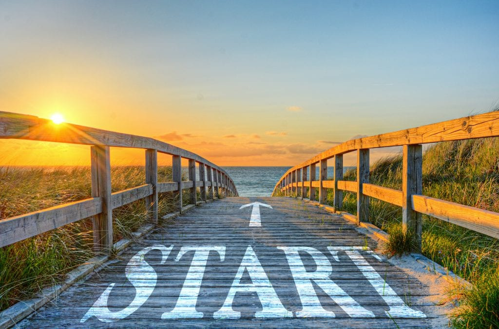 starting path
