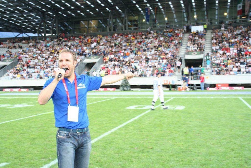 American Football WM 2011 Innsbruck 1