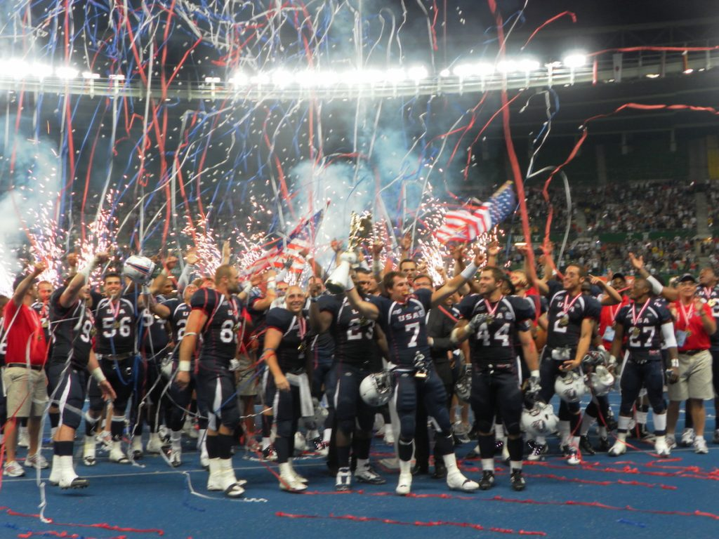 American Football WM 2011 Sieger USA
