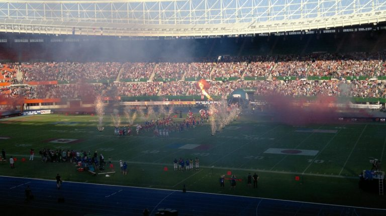 10th anniversary of the American Football World Championship in Austria