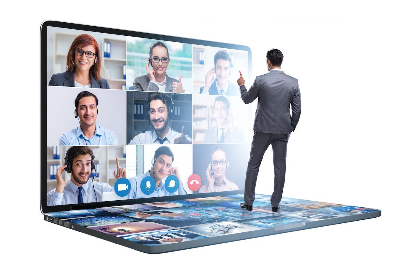 Virtuelle Präsentation